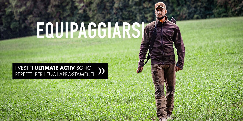 Browning vestiti Ultimate Activ appostamenti - aquipaggiarsi