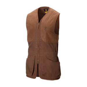 GILET ELITE MARRONE SCURO